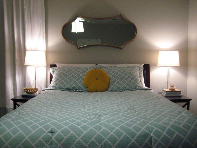 master bedroom redo hanging the mirror welcome to heardmont
