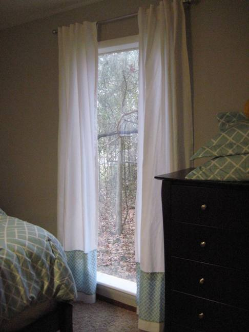 Master Bedroom Redo How To Personalize Your Curtains On A