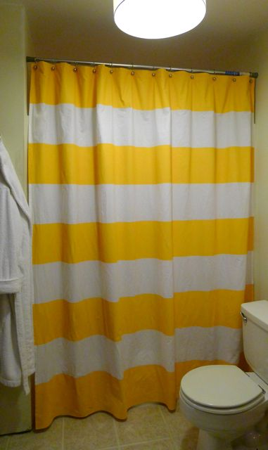 Tutorial How To Make A Striped Shower Curtain Welcome To Heardmont