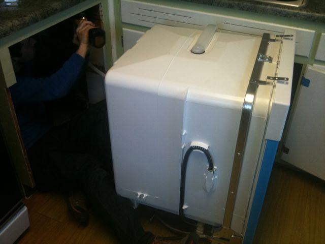 installing a dishwasher welcome to heardmont. Black Bedroom Furniture Sets. Home Design Ideas
